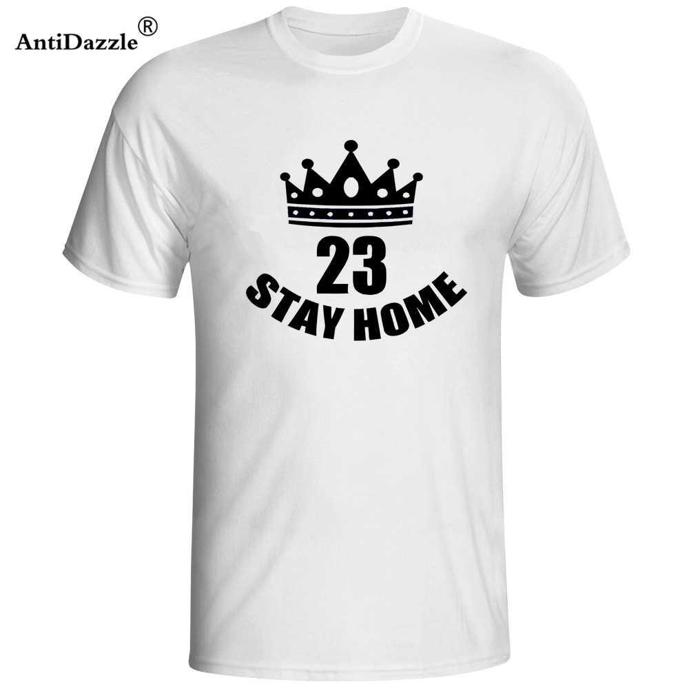 2018 Cleveland Verão Ficar Em Casa James LBJ T Camisas Dos Homens T camisas de Manga Curta T-Shirt de basquete Lebron jersey EUA cavalier Tees