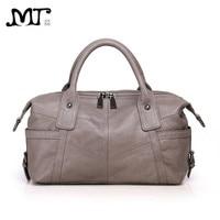 MJ Women Genuine Leather Bag Female Real Cow Leather Handbag Crossbody Bags for Women Shoulder Bag Large Capacity Ladies Tote