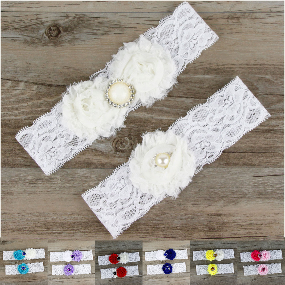 Why Two Garters For Wedding: Aliexpress.com : Buy 2pcs/Set Bridal Flowers Garter