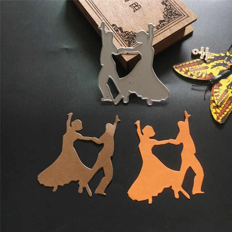 Đám Cưới Whimsy Trò Chơi Khăm Cắt Kim Loại Chết Stencils Cho Diy Thêu Sò/Album Ảnh Trang Trí Nổi Tự Làm Thẻ Giấy