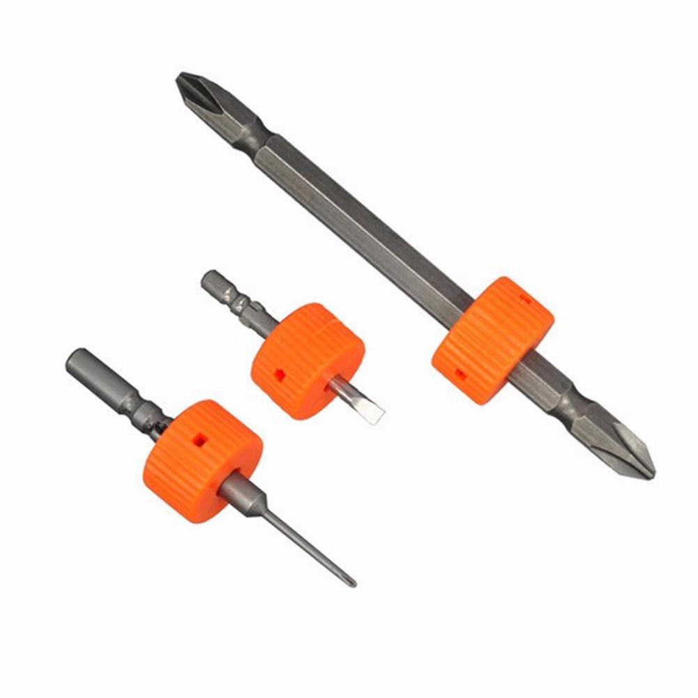3pcs Screwdriver Magnetization Rring Screw Driver Magnetizer Demagnetizer Mini Plastic Magnetic Pick-Up Tool Diameter 4mm/5mm/6m
