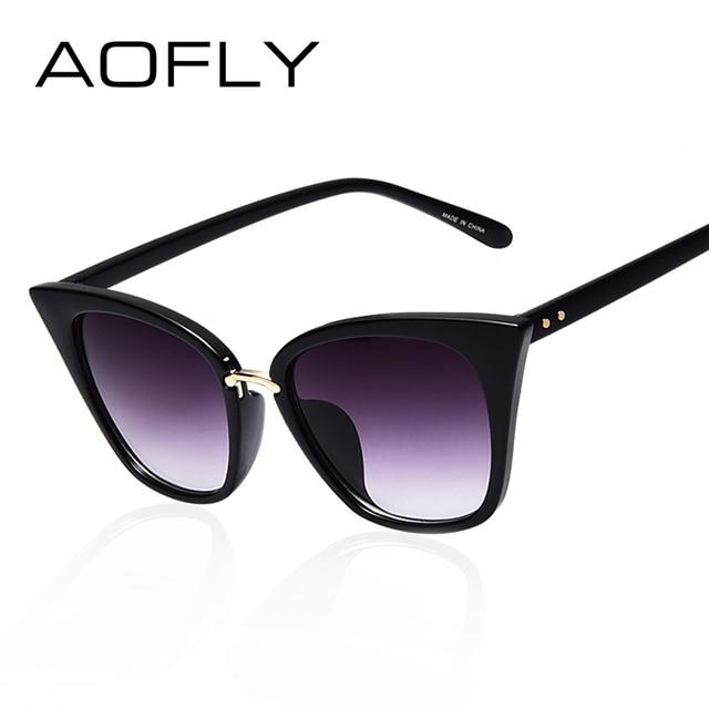 cheap designer sunglasses for women  Aliexpress.com : Buy AOFLY Cat Eye Sun glasses for Women Brand ...