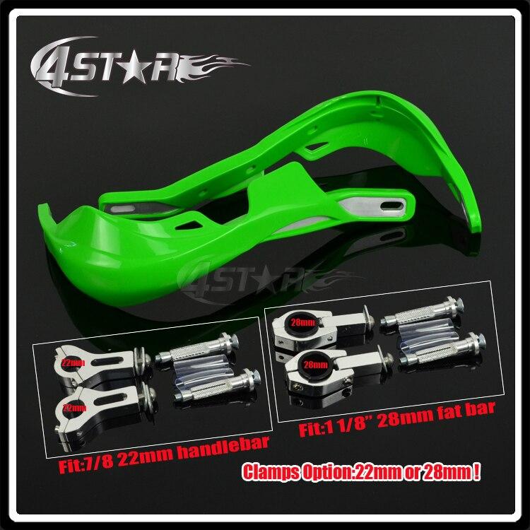 En plastique Motocross Garde-main gardes Protéger Fit CRF KTM YZF KXF450 250 KX125 250 KLX250 KLX450 RMZ KLX Moto Dirt vélo
