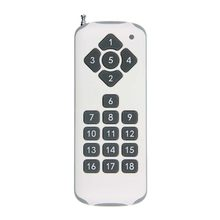 Extra 18 CH Channels 18CH RF Wireless Remote Control Transmitter,315 / 433 MHz(China)