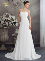 Jeanne Love New Arrival Fashion Vintage Wedding Dresses Bruidsjurken Chiffon Lace Bridal Dresses 2017 Robe De
