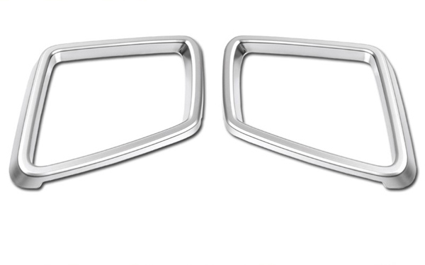 ABS Chrome Car Side Door Mirror Cover Trim Car Rearview