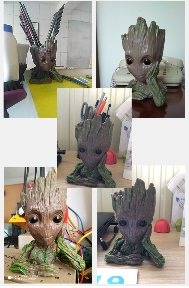 Baby Groot Flower Pot Suitable for Living Room Bed Room and study Room for Full Greenery in House 25