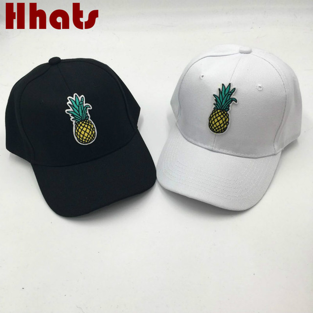 401410697f2 which in shower fruit pineapple baseball cap hip hop women men snapback  fitted hat female male
