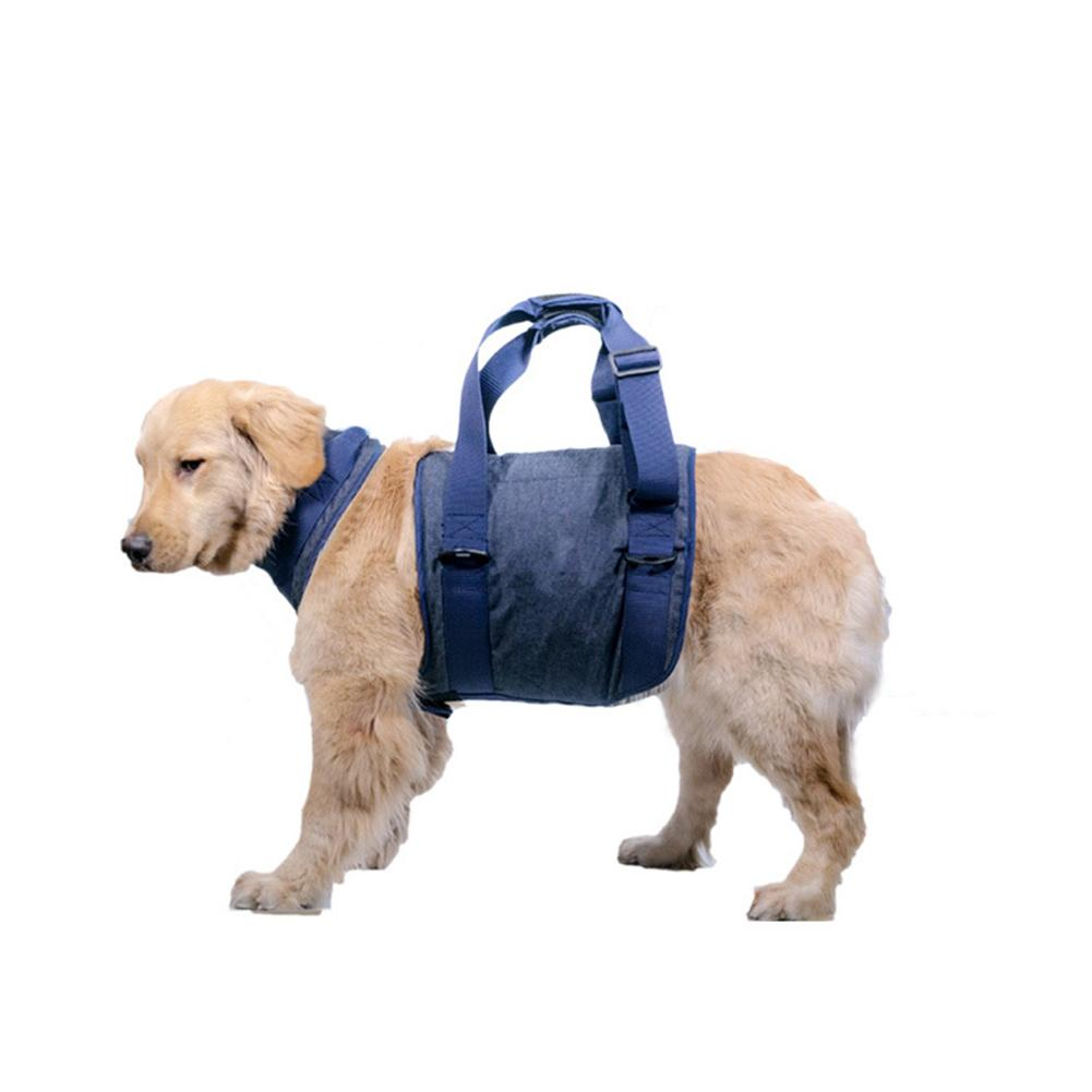 Pet Dog Lifting Harness Vest Accessories Dogs Collar Auxiliary Belt For Injury Rehabilitation Elderly Safety Walking