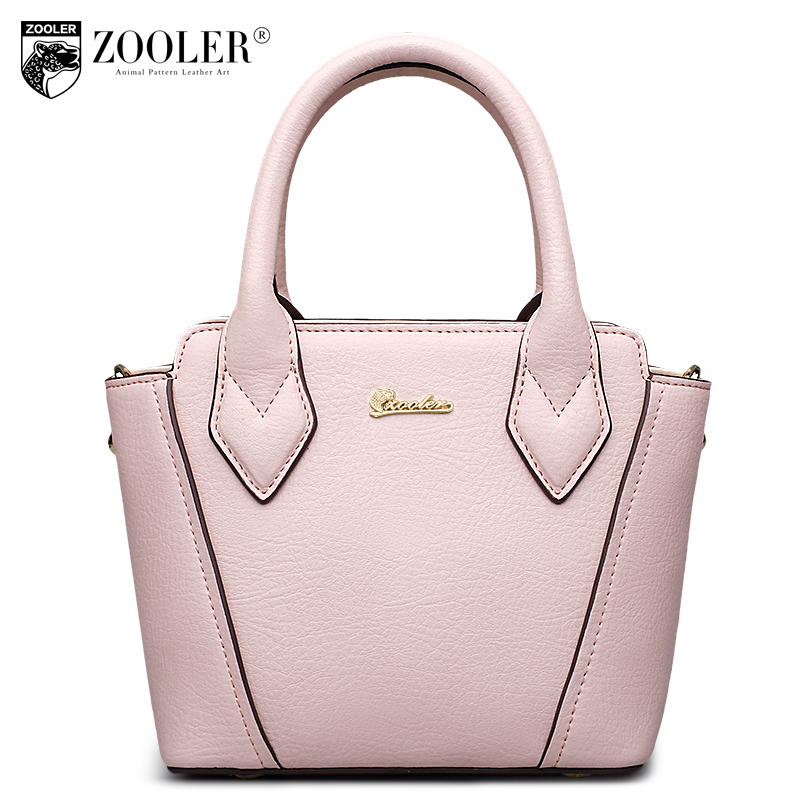 ZOOLER losing sales 2017 hot genuine leather bag famous brand trapeze real cowhide top handle woman bag bolsa feminina#1300 zooler genuine leather backpacks 2016 new real leather backpack for men famous brand china hot large capacity hot 65055