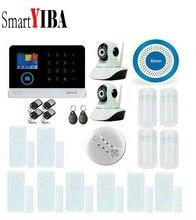 SmartYIBA RFID WIFI GPRS Home Security Alarm Wireless Fire Smoke Alarm Sensor Detector 2pcs Network Security