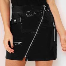 06bc75e4f Compra patent leather skirts y disfruta del envío gratuito en ...
