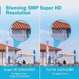 Image 4 - ANNKE 5MP H.265 + סופר HD PoE רשת וידאו אבטחת מערכת 4pcs עמיד למים חיצוני POE IP מצלמות Plug & play PoE מצלמה קיט