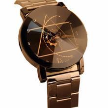 Мужские и женские парные наручные часы megir модные спортивные часы из нержавеющей стали Reloj роскошные часы-браслет от топ бренда наручные часы 18Jul16