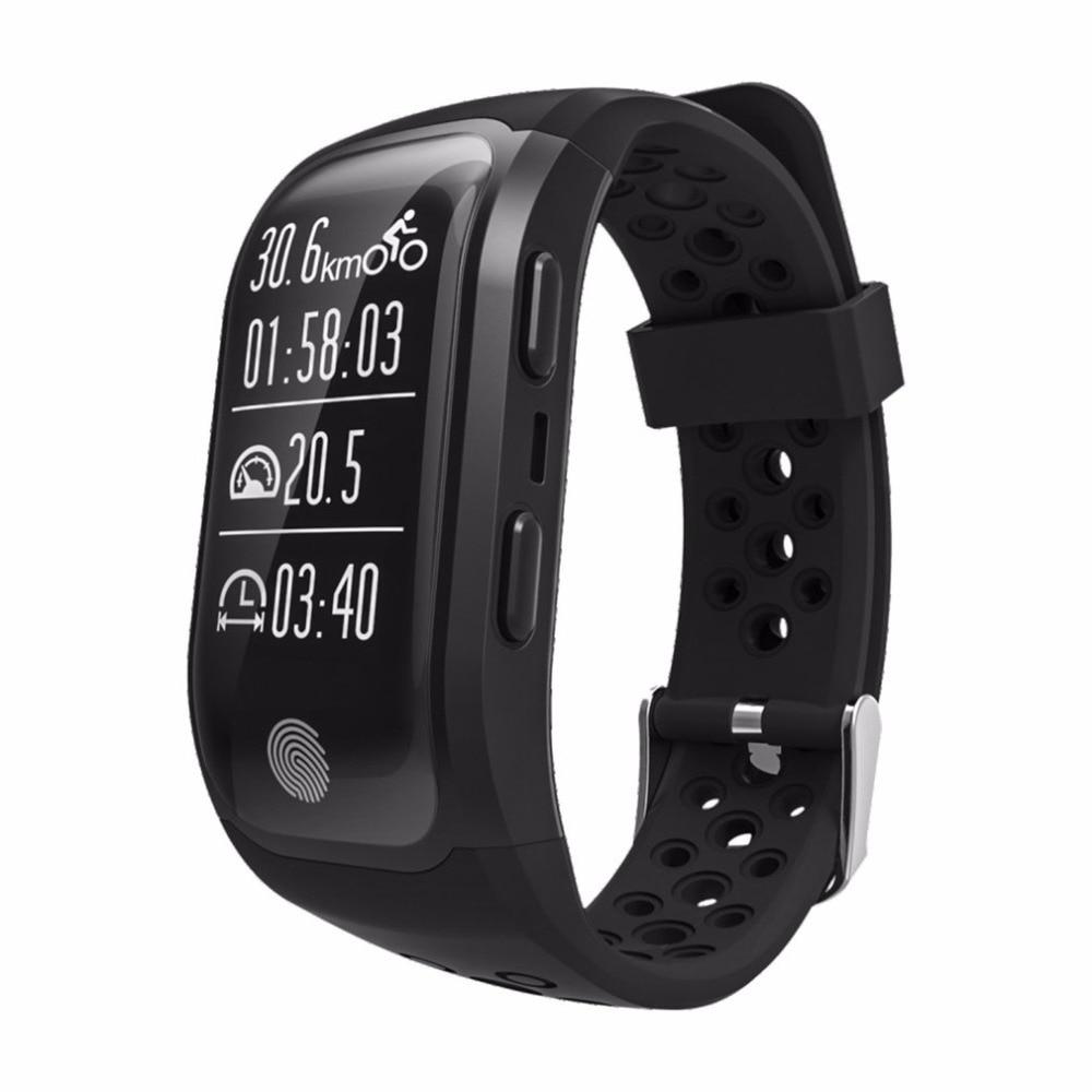 S908 Bluetooth GPS Tracker Wristband IP68 Waterproof Smart Bracelet Heart Rate Monitor Fitness Tracker Smart Band