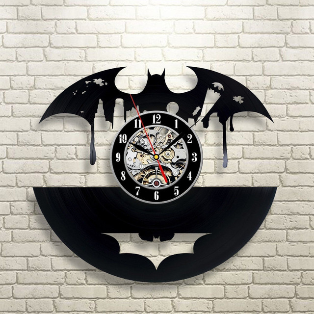 2017 Hot Vinyl Record Wall Clock