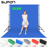 Supon 6 Color Options Screen Chroma Key 3 X 5M Background Backdrop Cloth For Studio Photo