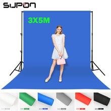Supon 6 Вариантов Цвета Экран Chroma key 3 х 5 М Фон Фон Ткань для Фотостудия освещение Номера тканые Ткани Фон