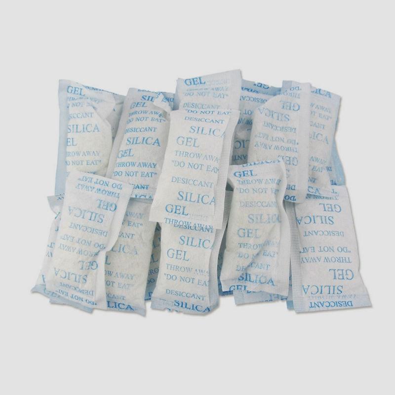 a93cf846f 50 unids/lote desecante de Gel de sílice bolsas absorbente de humedad 10 g/