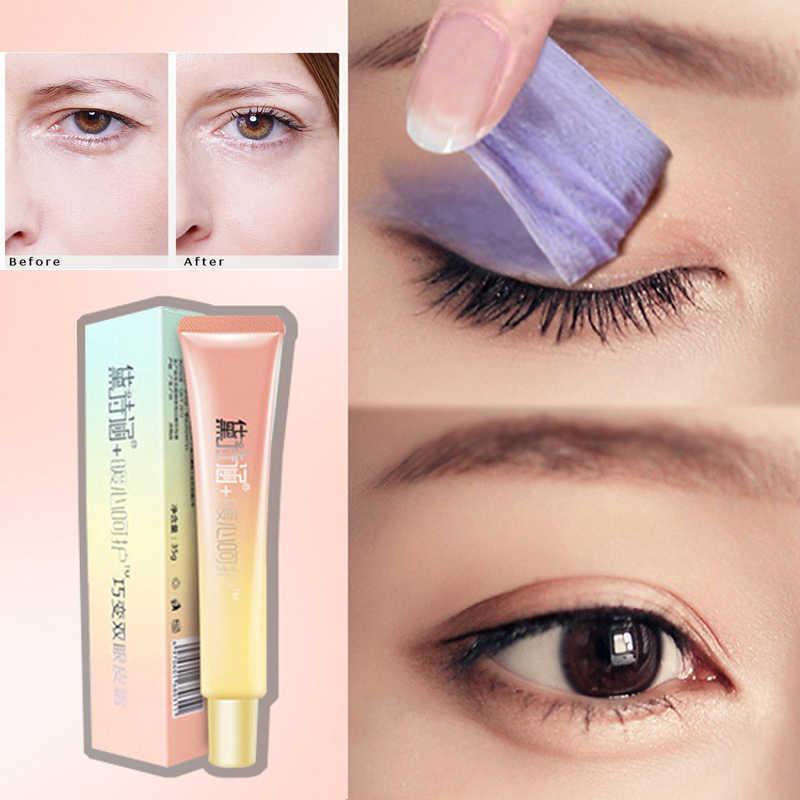 Double Eyelid Overnight Mask กระจายครีมของคุณตา Double eyelid styling cream adhere แพทช์