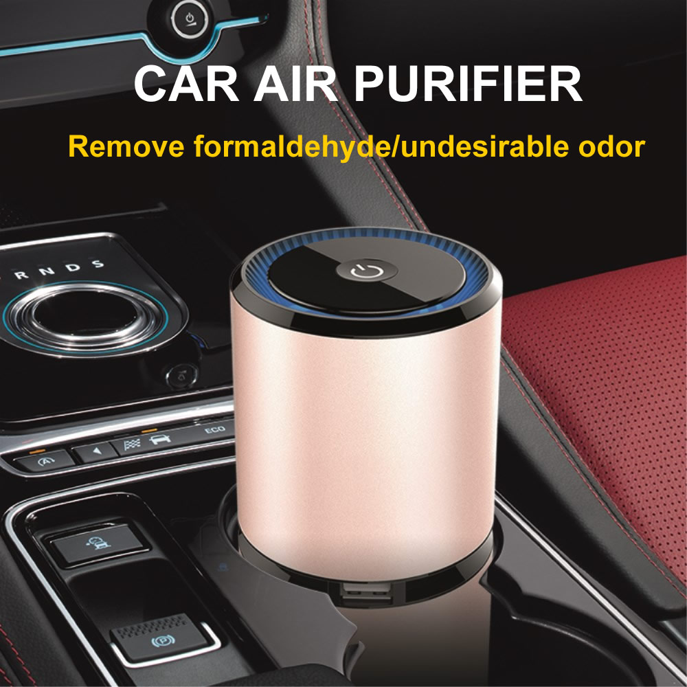 Image 2 - GIAHOL Mini Car Air Purifier Portable Negative Ion Purifiers with Dual USB Air Purifier Anion Air Freshener for Car Home Office-in Car Air Purifiers from Automobiles & Motorcycles