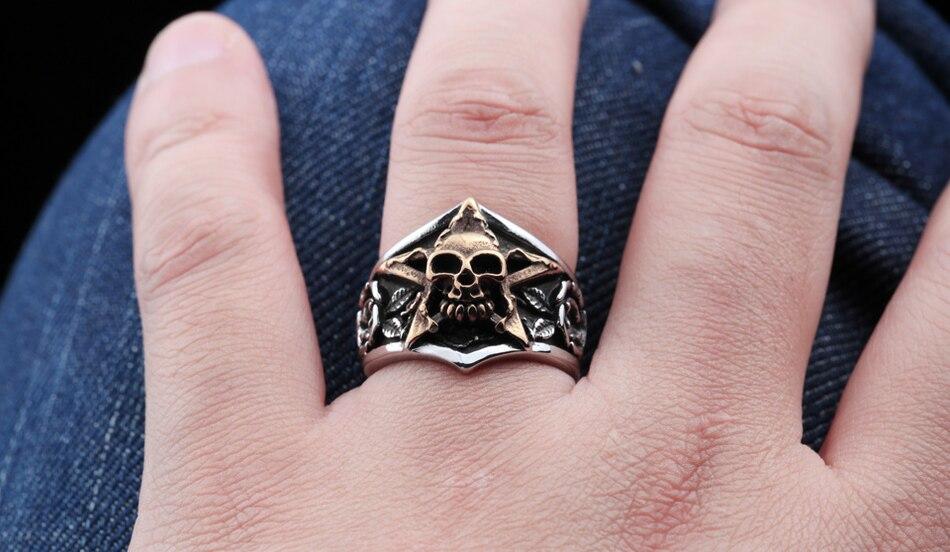 แหวนโคตรเท่ห์ Code 023 แหวนดาวห้าแฉก สแตนเลส12