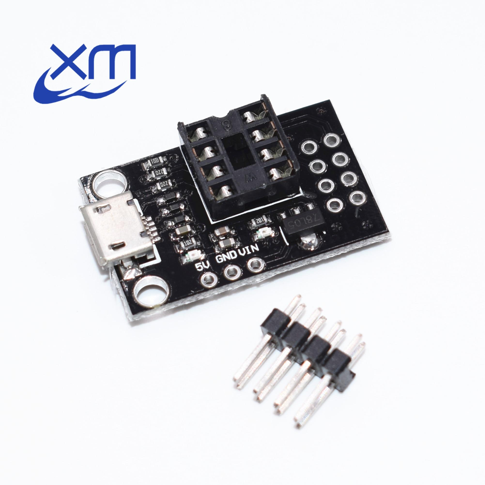Development Programmer Micro USB Board  for ATtiny13A//ATtiny25//ATtiny45//ATtiny85