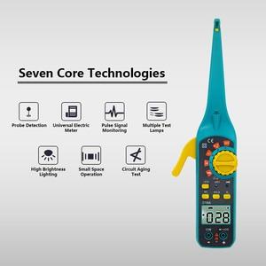 Image 5 - PROTMEX Multi função de Reparo Automotivo Diagnóstico Do Carro Novo Multímetros Digitais Testador de Bateria Do Veículo Com Sonda de Teste