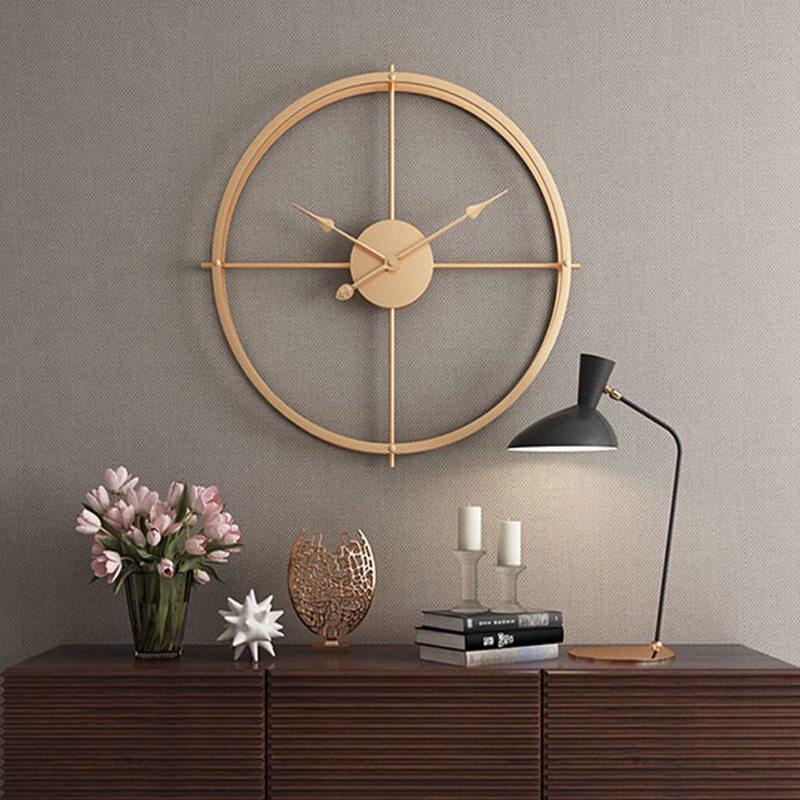 2019 bref 3d Style européen silencieux montre horloge murale Design moderne pour maison bureau décoratif suspendus horloges mur décor à la maison