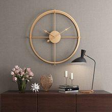 2020 קצר 3d אירופאי סגנון שקט שעון קיר שעון מודרני עיצוב לבית משרד דקורטיבי תליית שעוני קיר בית תפאורה