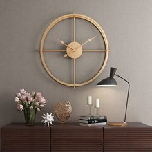 2020 Brief 3d European Style Silent Watch Wall Clock Modern Design For Home Office Decorative Hanging Clocks Wall Home Decor