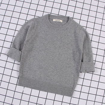 Autumn Baby Boys Girls o-neck Sweaters Sweater Kids Sweaters For Winter Knitted Bottoming Boys Sweaters Vetement Enfant boys sweaters high quality baby trui baby girls sweater autumn winter baby warm clothes kids sweater