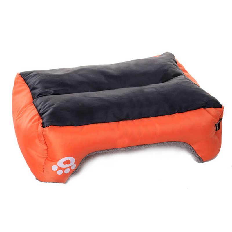 Lit pour animaux de compagnie matériau doux lit pour chien chat maison couverture pour animaux de compagnie nid chiot panier chien chaud Chihuahua lit maison nid approvisionnement 50