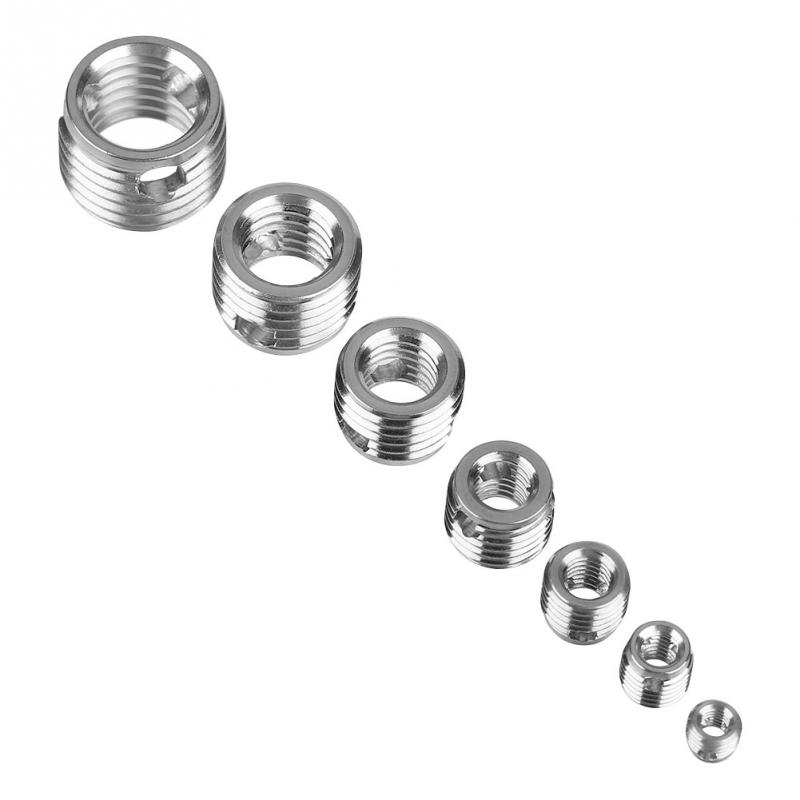 58pcs  set self tapping thread inserts stainless steel