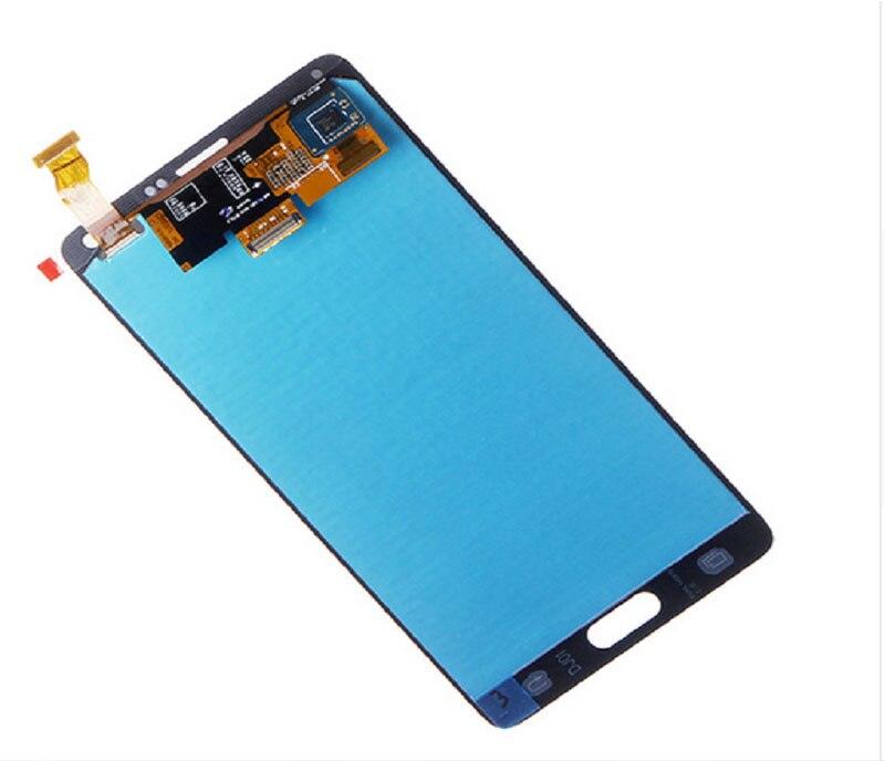 ORIGINAL 5 7 SUPER AMOELD Burn Shadow LCDs for Samsung Galaxy Note 4 N910T N910A LCD