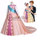 Free Shipping Custom Made  Beautiful Fancy Princess Dress Princess Anastasia Dress Costume Cosplay for Ball Gown Party