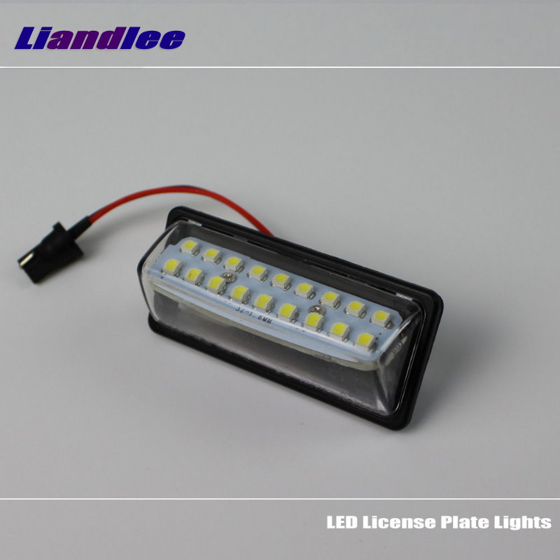 Liandlee For Nissan Paladin Roniz Xterra LED Car License Plate Light Number Frame Lamp High Quality LED Lights in Signal Lamp from Automobiles Motorcycles
