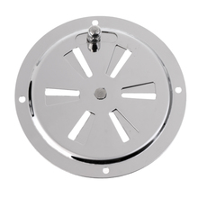 100mm Butterfly Boat Round Louvered Vent Cover Marine Stainless Steel Cubierta de ventilacion Couvercle ventilation