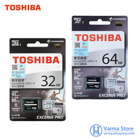 Toshiba Tf64gb 95MB S Micro Sd Class10 Phone Memory Card U3 High Speed Memory Card