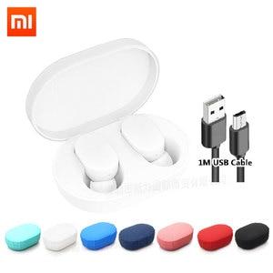 Image 1 - Xiaomi Mi AirDots TWS Bluetooth 5.0 Auricolare Versione Giovanile Norma Mijia Auricolare Senza Fili Stereo Bass Auricolare Con Microfono Vivavoce