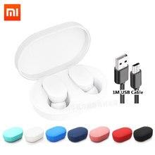 Xiaomi Mi Airdots TWS Bluetooth 5.0 หูฟังเยาวชนรุ่นMijiaสเตอริโอชุดหูฟังไร้สายชุดหูฟังพร้อมไมโครโฟนแฮนด์ฟรี