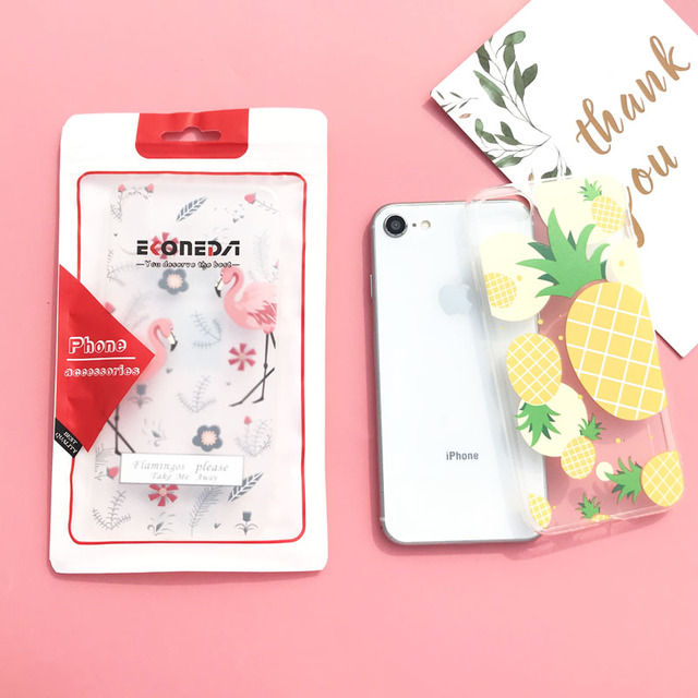 Crystal Clear Fashion Soft TPU Silicone Case – iPhone