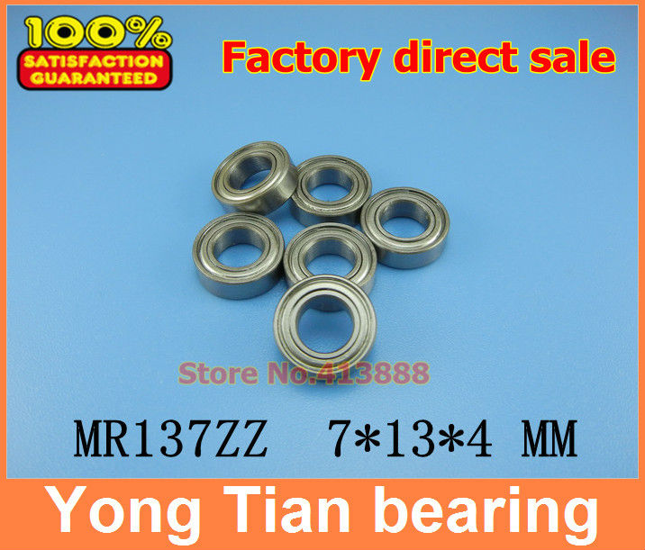 (1pcs) High quality miniature stainless steel deep groove ball bearing (stainless steel 440C material) SMR137ZZ 7*13*4 mm smr115 smr115zz l 1150zz stainless steel 440c deep groove ball bearing 5x11x4 mm miniature bearing mr115