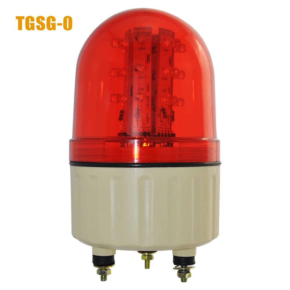 LTD-5082 led flashing light magnet bottom led signal strobe warning light DC12V/24V AC220V red/yellow/green/blue lta 205j 2 dc12v 2 layer tower light signals bulb warning lamp alarm 90db red green u bottom