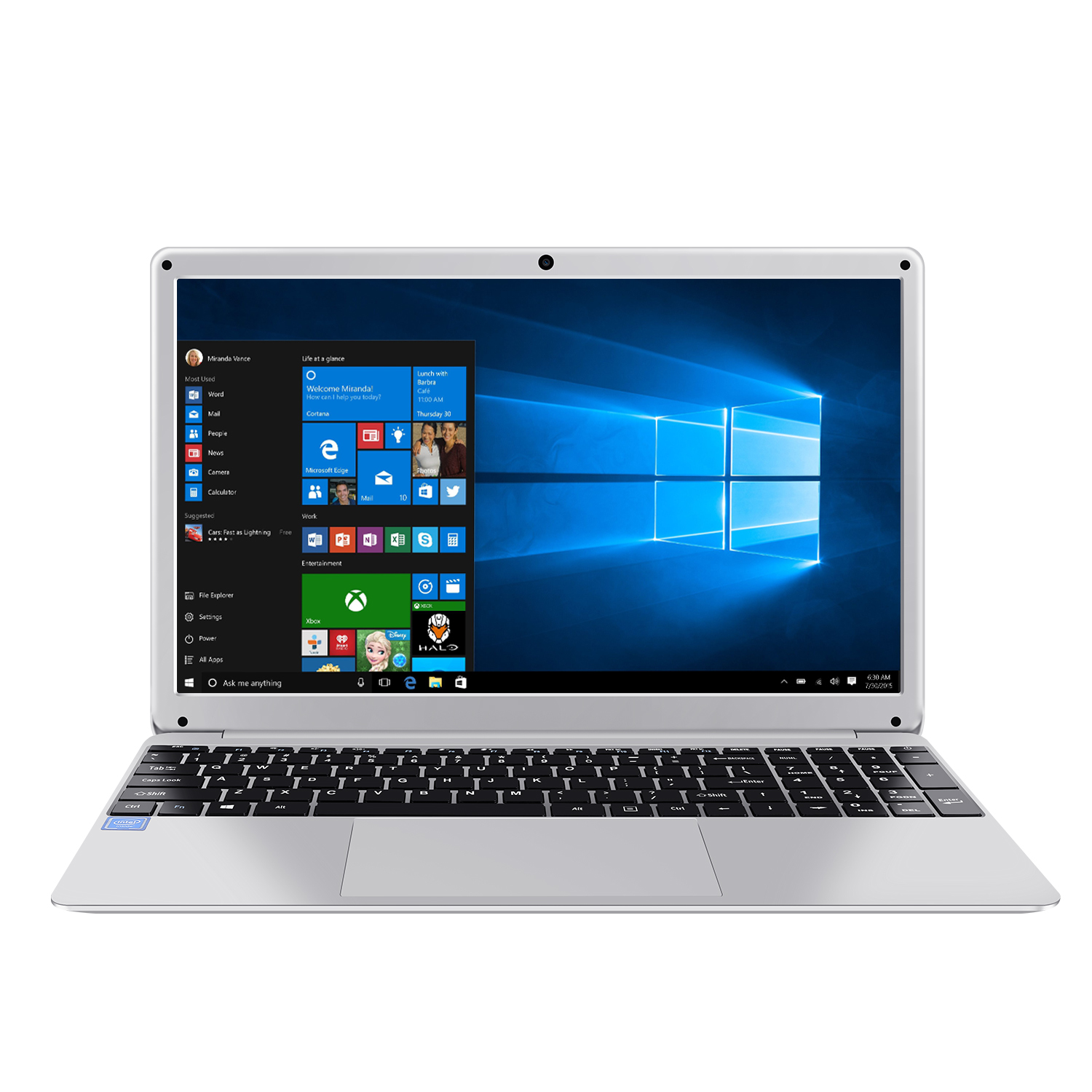 15.6 Inch 4GB RAM 128GB 256G SSD Notebook Windows 10 Intel E8000 Quad Core Laptop  with HDMI WiFi Bluetooth Full Layout Keyboard