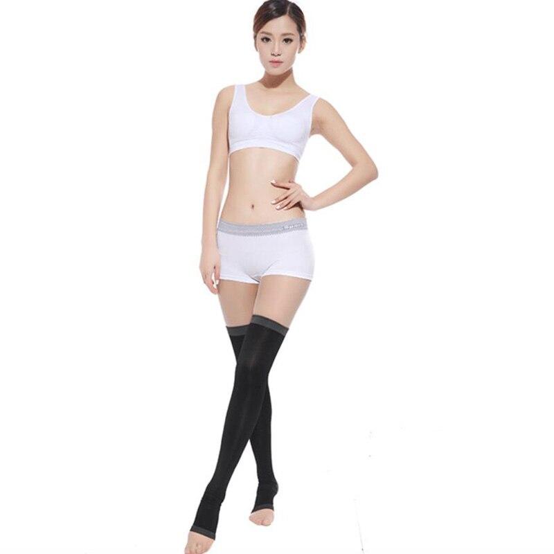 1 Paar Venen Kompression Strümpfe Brennen Fett Dünnen Schlaf Über Knie Strümpfe Abnehmen Dame Schönheit Bein Schlank Legging Sn Durch Wissenschaftlichen Prozess Schönheit & Gesundheit