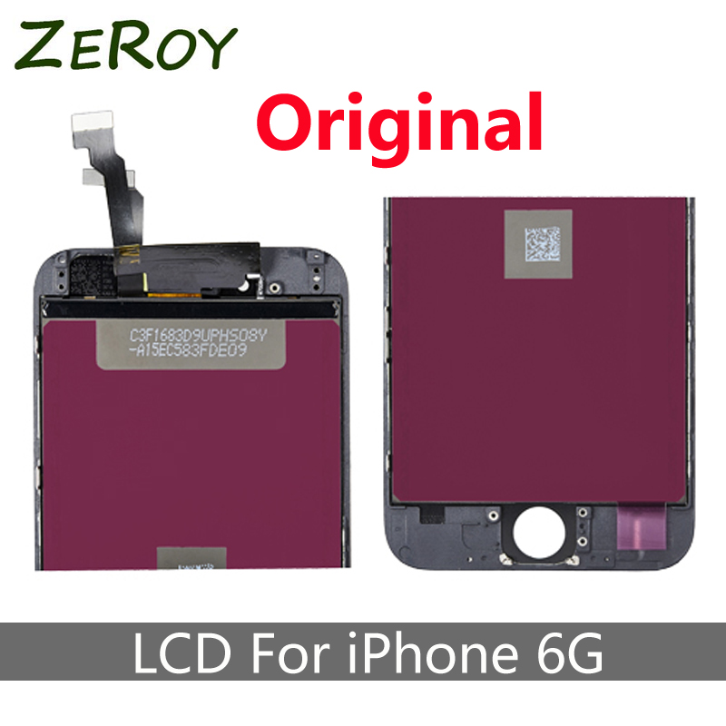 A +++ No Dead Pixel Original Glass Touch Screen Digitizer & LCD Assembly Replacement For iPhone 6