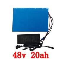 US EU No Tax 48V 20AH 1200W Electric Bike Battery 48V 20AH Triangle Battery With 30A