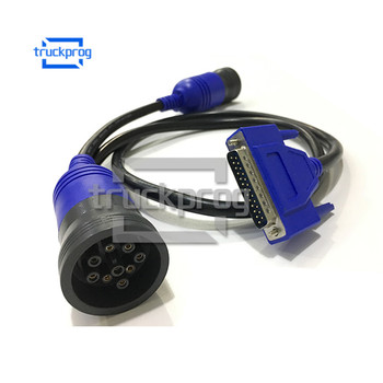 9 pin Deutsch Adapter Diagnostic Cable for CNH Diagnostic Scanner 9pin Diagnostic Interface Cable