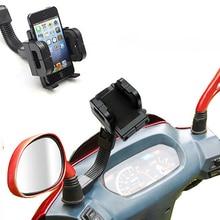 Universal 360-Degree Rotation iPhone Smart Android Phone GPS Navigation Motorcycle Mount Holder Bracket